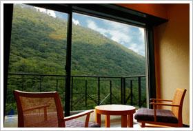 ホテルはつはな「和室スーペリア」客室からの眺め