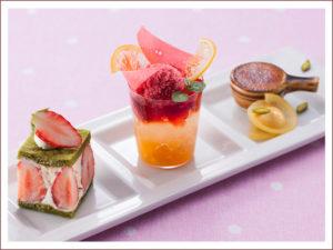 小田原イチゴとレモンのプリンセススイーツ 1,000円