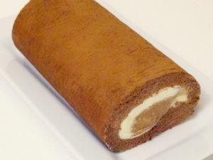 箱根ロール チョコレート(チョコチップ入り)