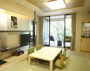 7.5畳のビューバス付き和洋室