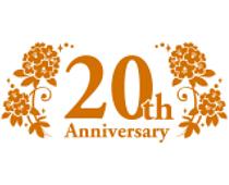 20周年記念ロゴマーク