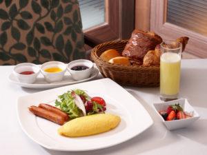朝食のスタンダードメニュー