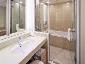 レディースエグゼクティブシングルルーム バスルーム