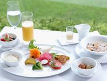 野菜中心のフレンチジャポネの朝食