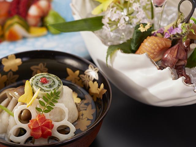 夕食の懐石料理(イメージ)