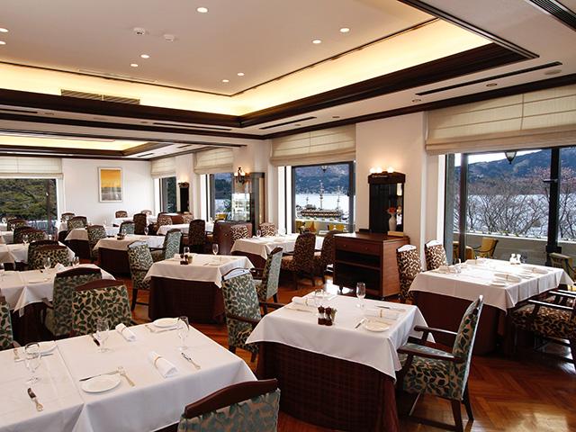 フランス料理レストラン「ヴェル・ボワ」